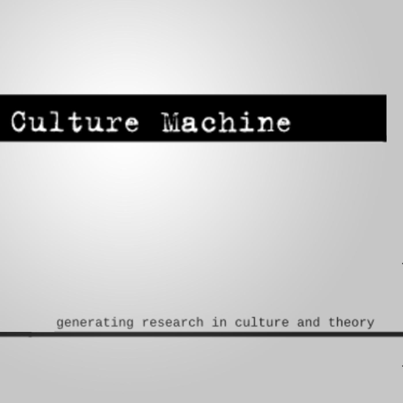 Speculative Computing and the Aesthetics of the Humanities: Johanna Drucker