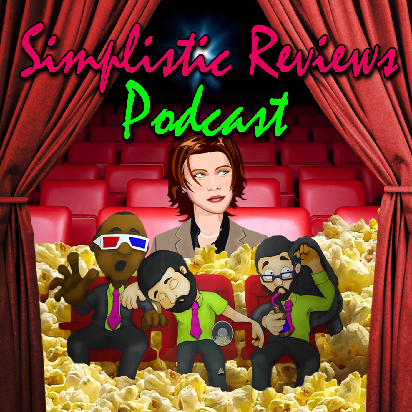 (Ep. 107): The Simplistic Reviews Podcast: July 2018