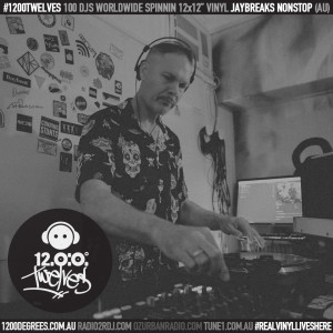 1200 Degrees EP76 plus 1200 Twelves EP30 ft Jaybreaks Nonstop (AU) with your host DJ D