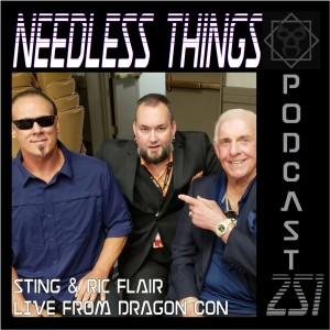 Needless Things Podcast 251 – Sting & Ric Flair LIVE from Dragon Con