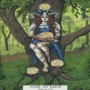 January 11, 2020 - Tarot Card of the Day - 4 of Pentacles (Earth)