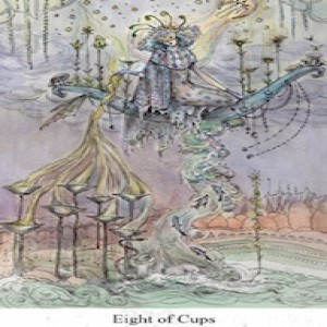 November 27, 2019 - Tarot Card of the Day - 8 of Cups