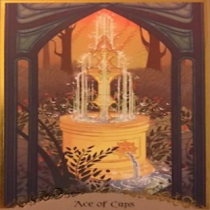 February 9, 2020 - Tarot Card of the Day - Ace of Cups