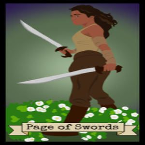 February 21, 2020 - Tarot Card of the Day - Page of Swords