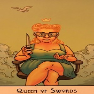 January 9, 2020 - Tarot Card of the Day - Queen of Swords