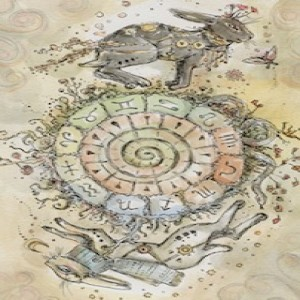 January 8, 2020 - Tarot Card of the Day - Wheel of Fortune