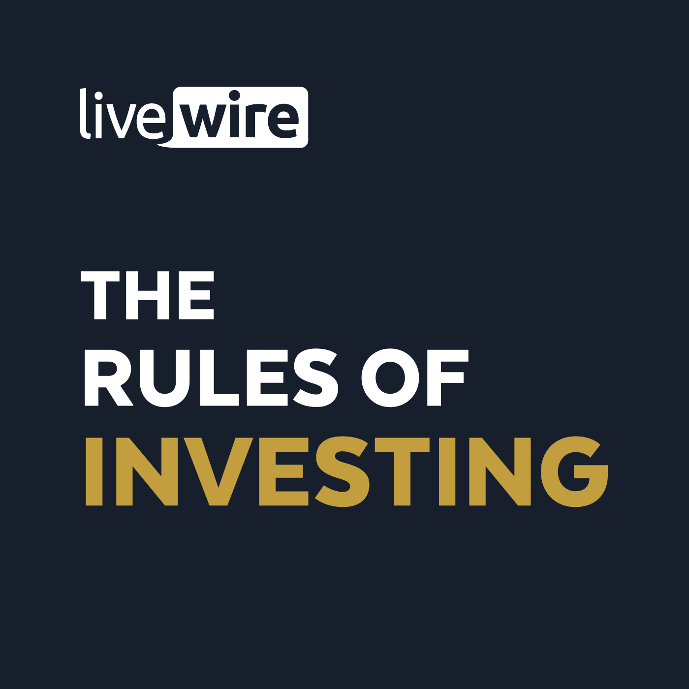 The Rules of Investing