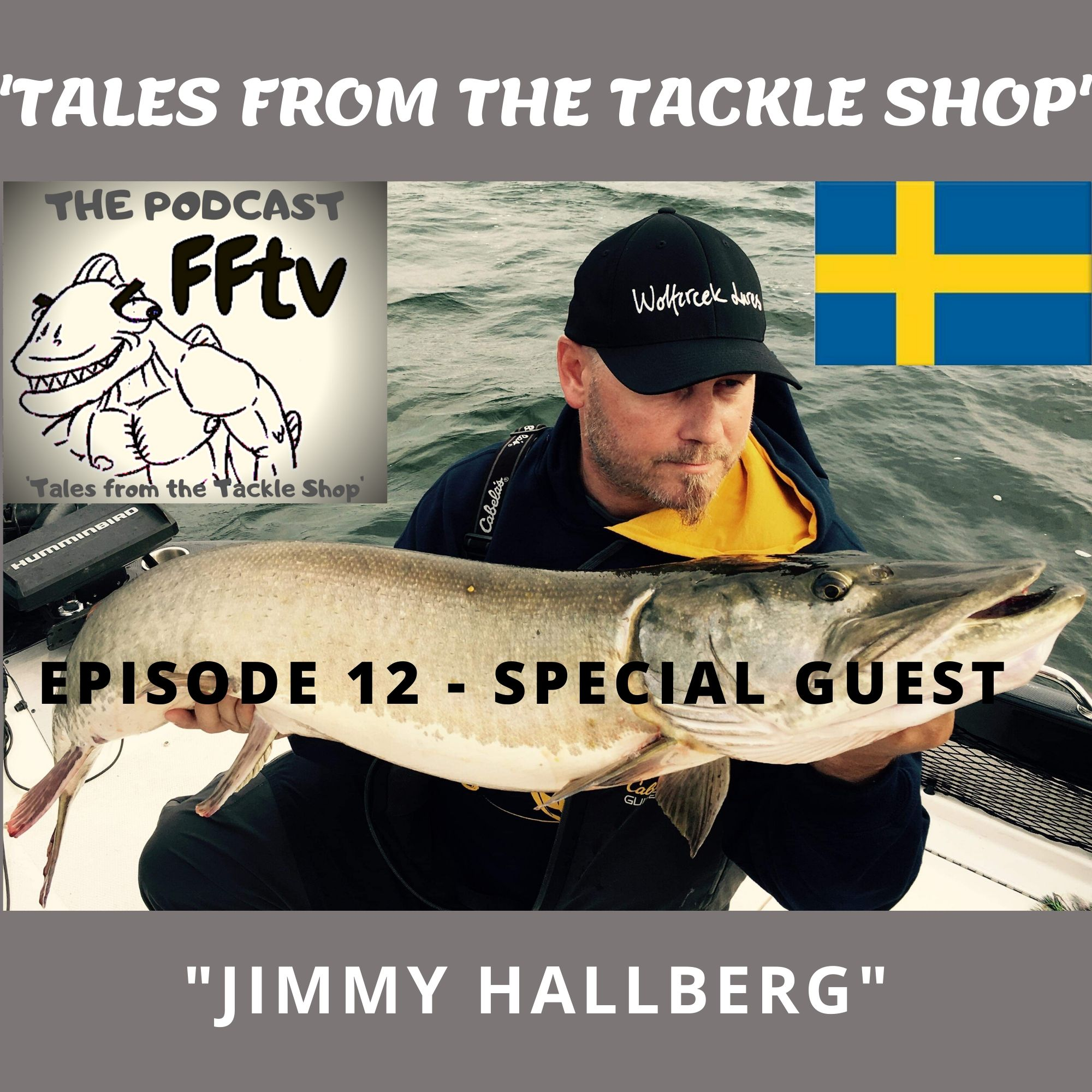 Episode 12, Special guest Jimmy Hallberg