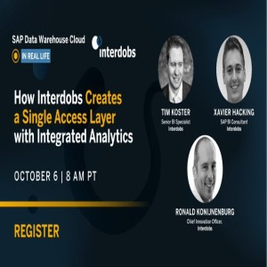 How Interdobs Creates a Single Access Layer with Integrated Analytics (English)