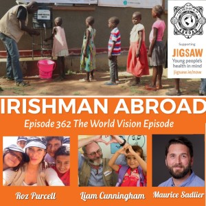 Liam Cunningham & Roz Purcell - The World Vision Episode