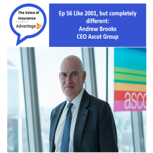 Ep 56 Like 2001, but completely different: Andrew Brooks CEO Ascot Group