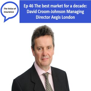 Ep 46 The Best Market for a Decade: David Croom-Johnson MD Aegis London