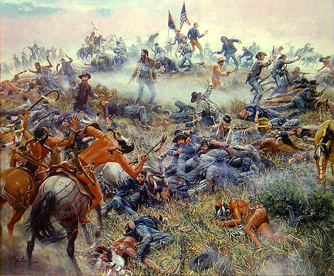 S05E11: The Battle of the Little Bighorn: Custer's Last Stand?