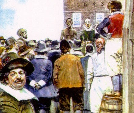 S06E05: New York's Slave Rebellions of 1712 and 1741