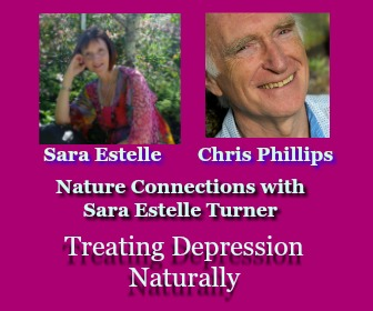 Treating Depression Naturally with Flower Essences - with Chris Philips and Sara Estelle Turner