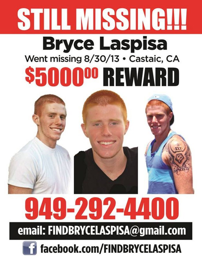 #50: The Mysterious Disappearance of Bryce Laspisa