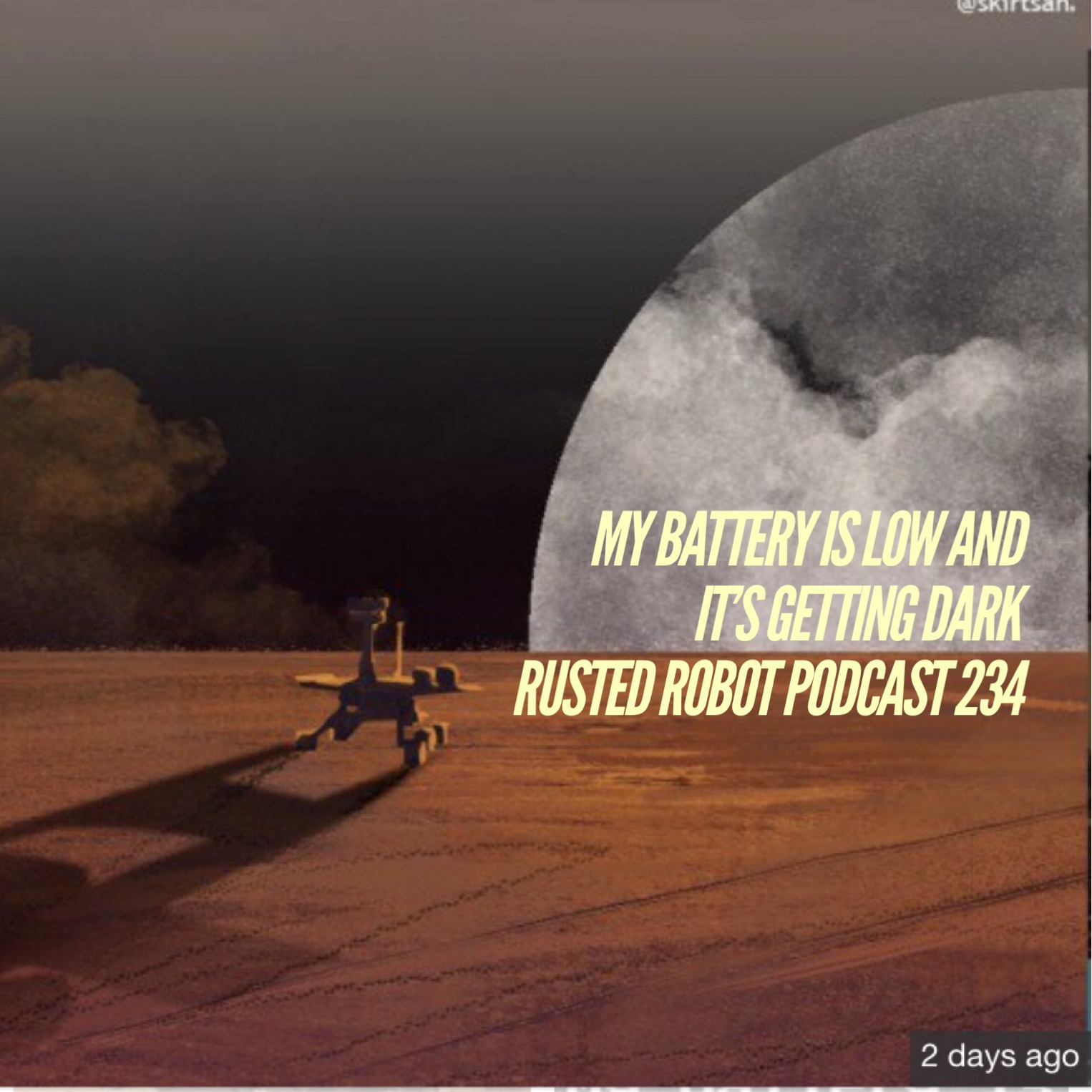 My Battery Is Low And It's Getting Dark - 234