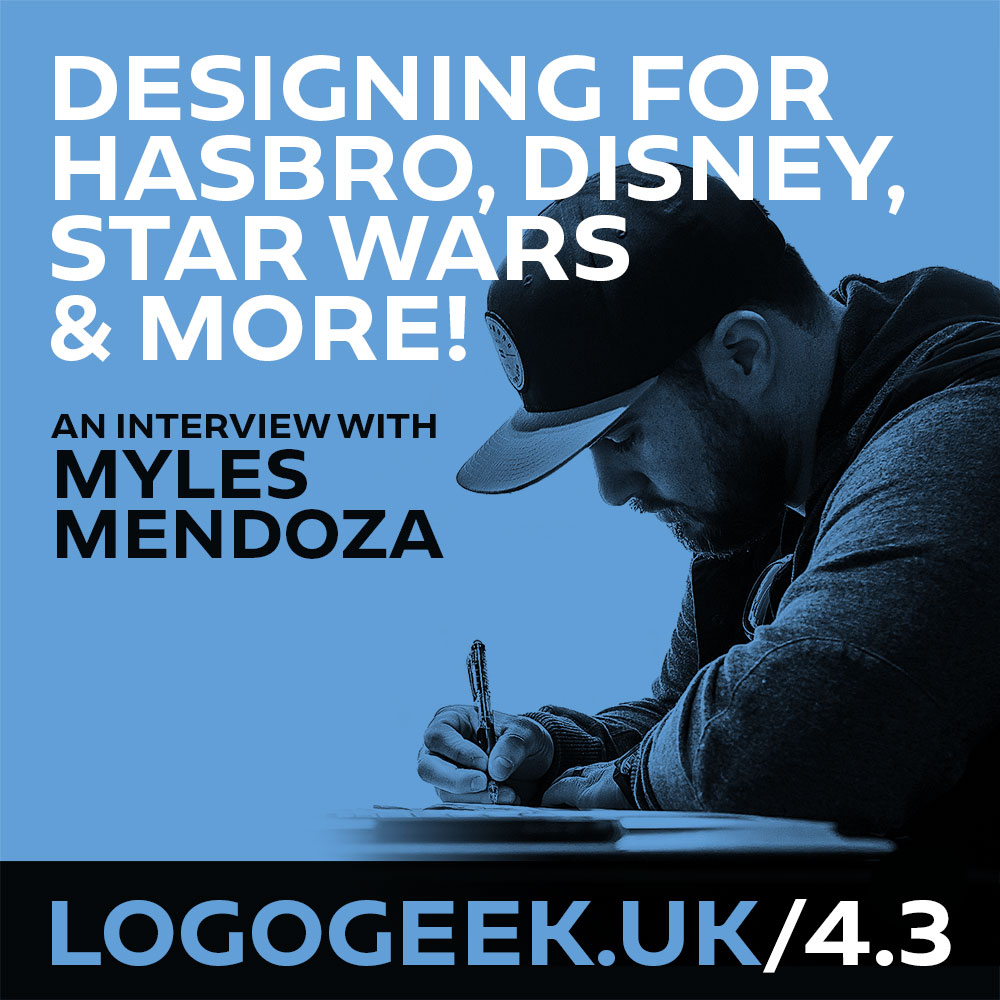 #4.3: Designing logos for Hasbro, Disney, Star Wars & More! - An interview with Myles Mendoza