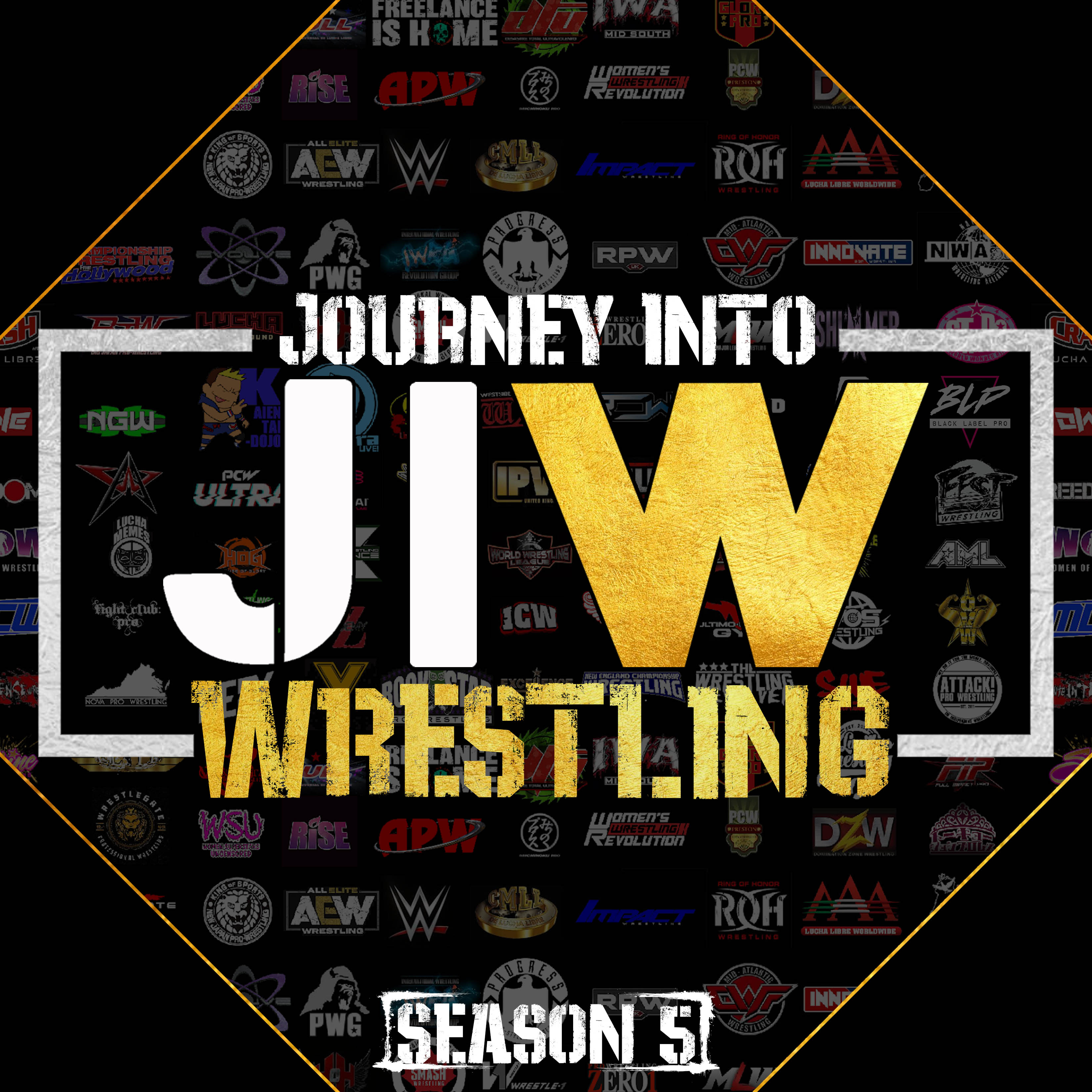 Journey Into Wrestling S5 E16 - Stand Back, There's a Chubby Bunny Coming Through