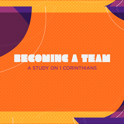 Becoming a Team | Chad Stafford | 5.5.19