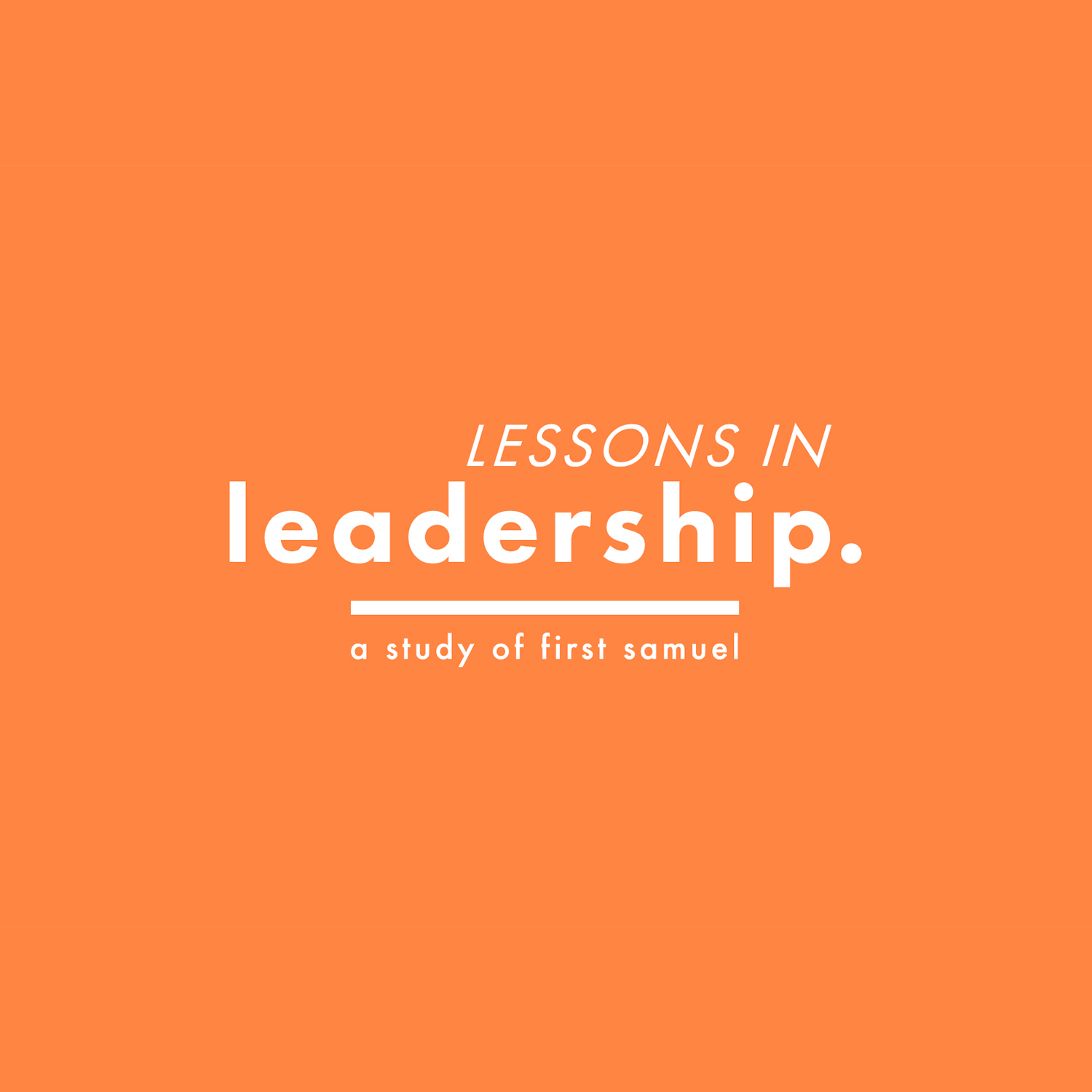 Lessons in Leadership | A Leader's Responsibility