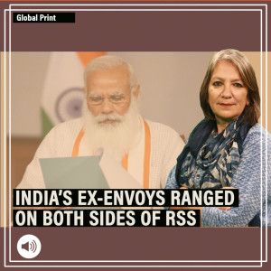 Why RSS has picked one group of India's former ambassadors over another