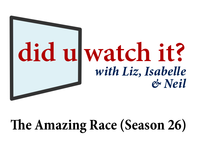 The Amazing Race (Season 26) – Episode 1