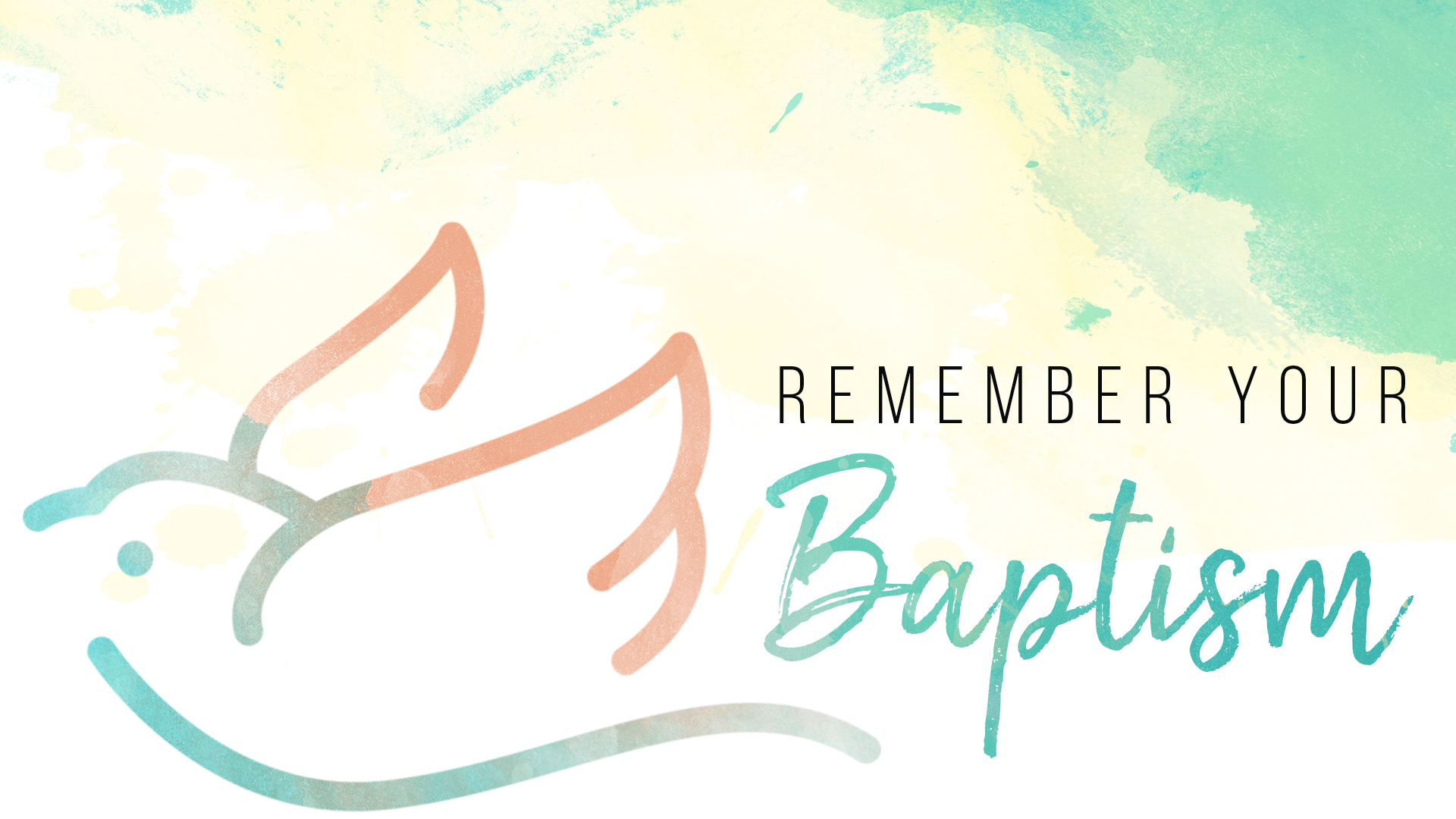 01.13.19 - Remember Your Baptism