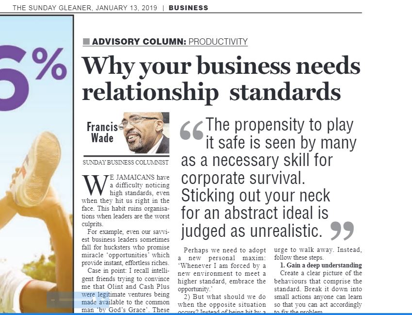 Why Your Business Needs a Mature Relationship to Standards