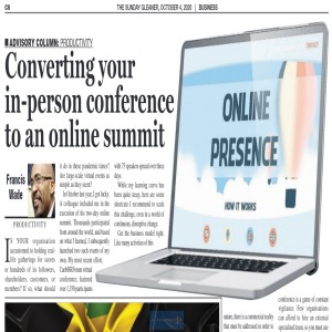 How to Convert Your In-Person Conference to an Online Summit
