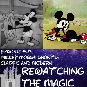 RTM 014 - Mickey Mouse Shorts: Classic and Modern