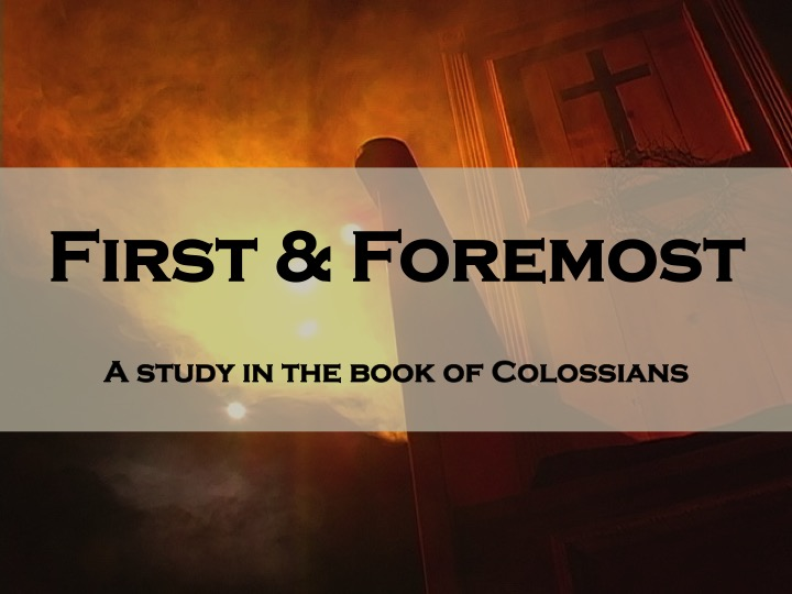 "11/12/17 Colossians 4:2-18 ""Fracture Focus"" [Matthew Brooks]"