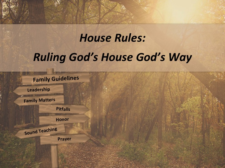 """10/28/18 1 Timothy 2:1-15 """"Why Gender Roles Are Important"""" [Paul Knott]"""