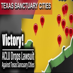 BREAKING: ACLU drops lawsuit against 7 Texas Sanctuary Cities for the Unborn | The Mark Harrington Show | 5-28-20