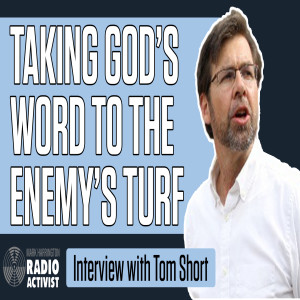 Taking God's word to the enemy's turf – Guest: Evangelist Tom Short | The Mark Harrington Show | 5-25-21
