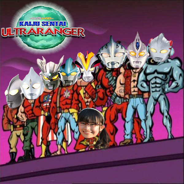 Kaiju Sentai Ultraranger [74] X's Gonna Shuwa To Ya