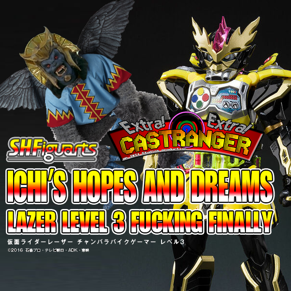 Extra! Extra! Castranger [172] It's About Rider Time
