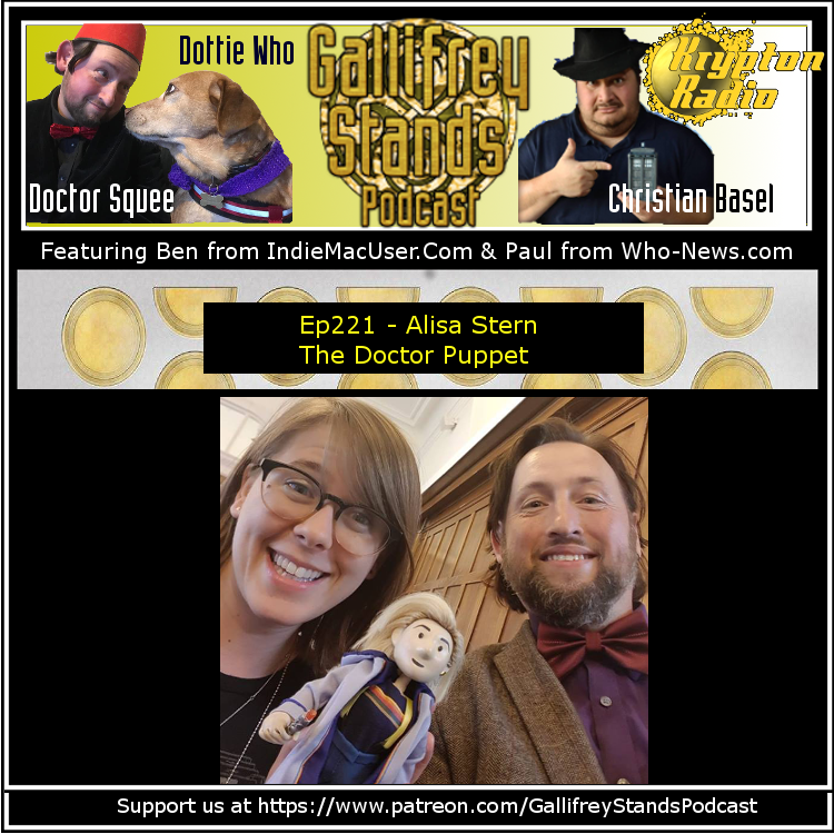 Gallifrey Stands -Ep221- Alisa Stern - The Doctor Puppet