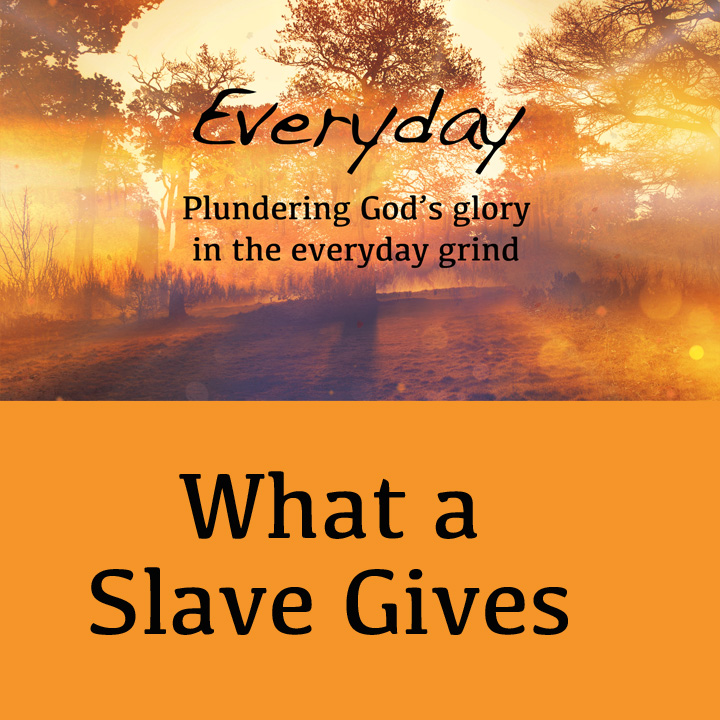 What A Slave Gives