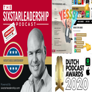 BNR Dutch Podcast Awards 2020, STEM Sixstarleadership!