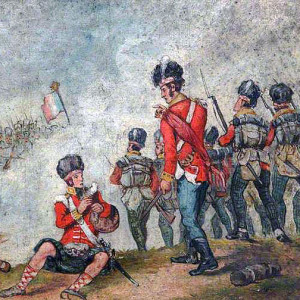 The Battle of Vimeiro fought on 21st August 1808, The Duke of Wellington's second victory of the Peninsular War