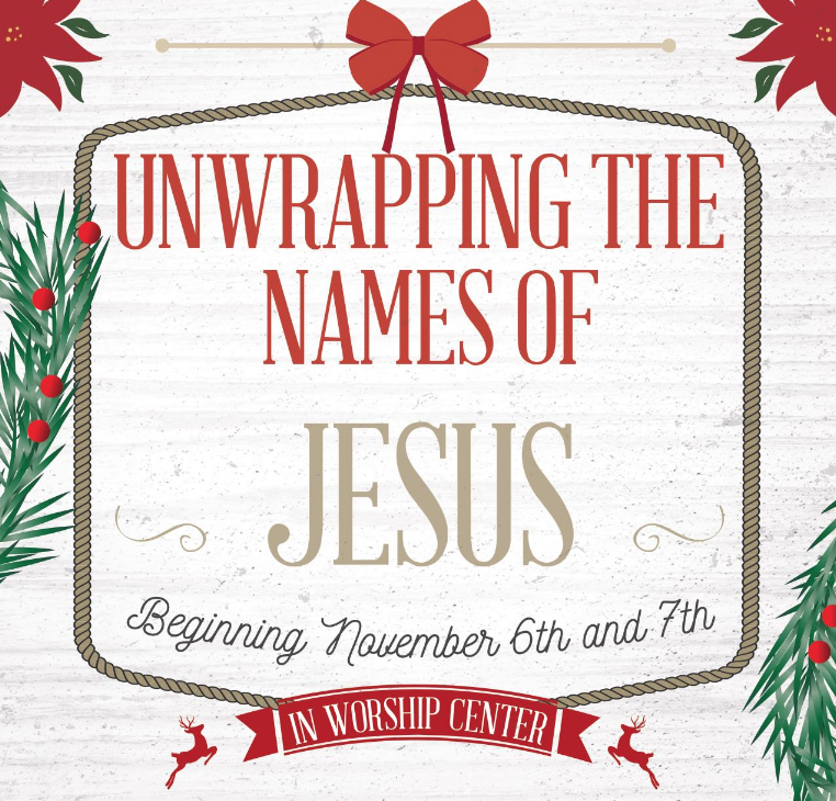 RefresHer December 5, 2018 - Unwrapping the Names of Jesus - Kristin Yeldell