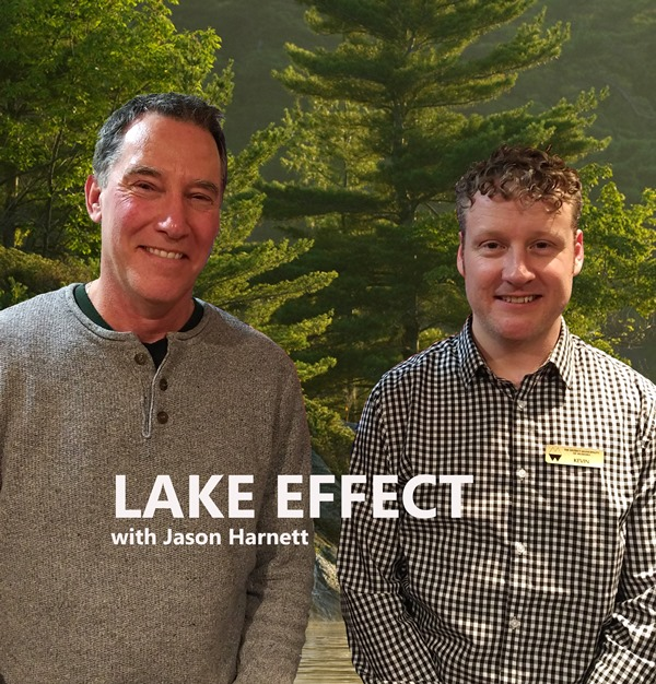 Kevin Trimble (Chair Muskoka Watershed) & Kevin Boyle Climate Change Coordinator for District of Muskoka (Segment 2)