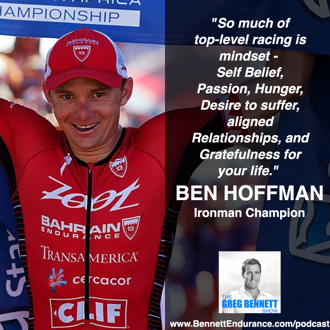 Ben Hoffman - 8 Time Ironman Champion