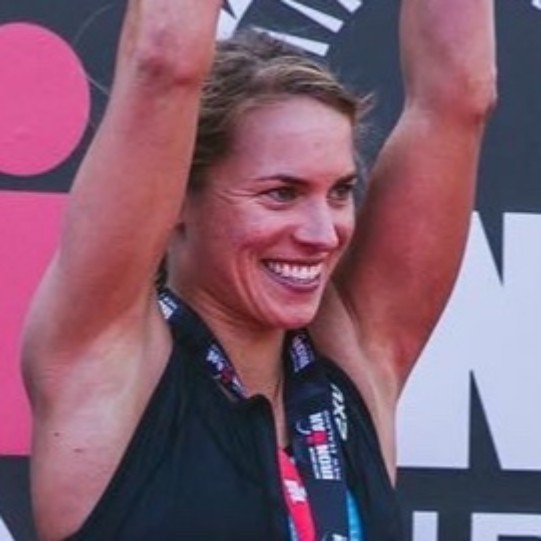 Dr. Hannah Wells - Pro triathlete -IRONMAN and multiple 70.3 Champ -Ph.D. Biotech Engineering