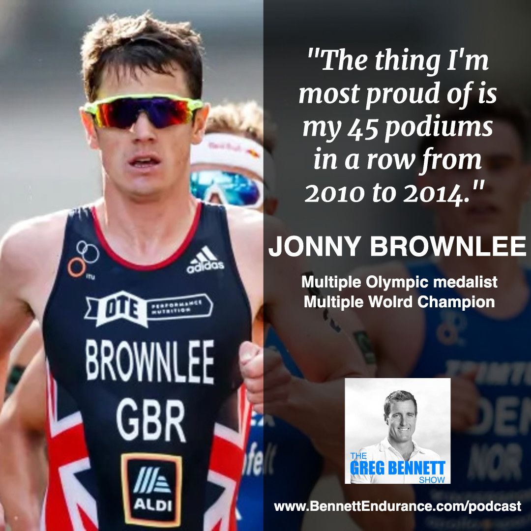 Jonny Brownlee - Multiple Triathlon Olympic Medalist, Multiple Triathlon World Champion