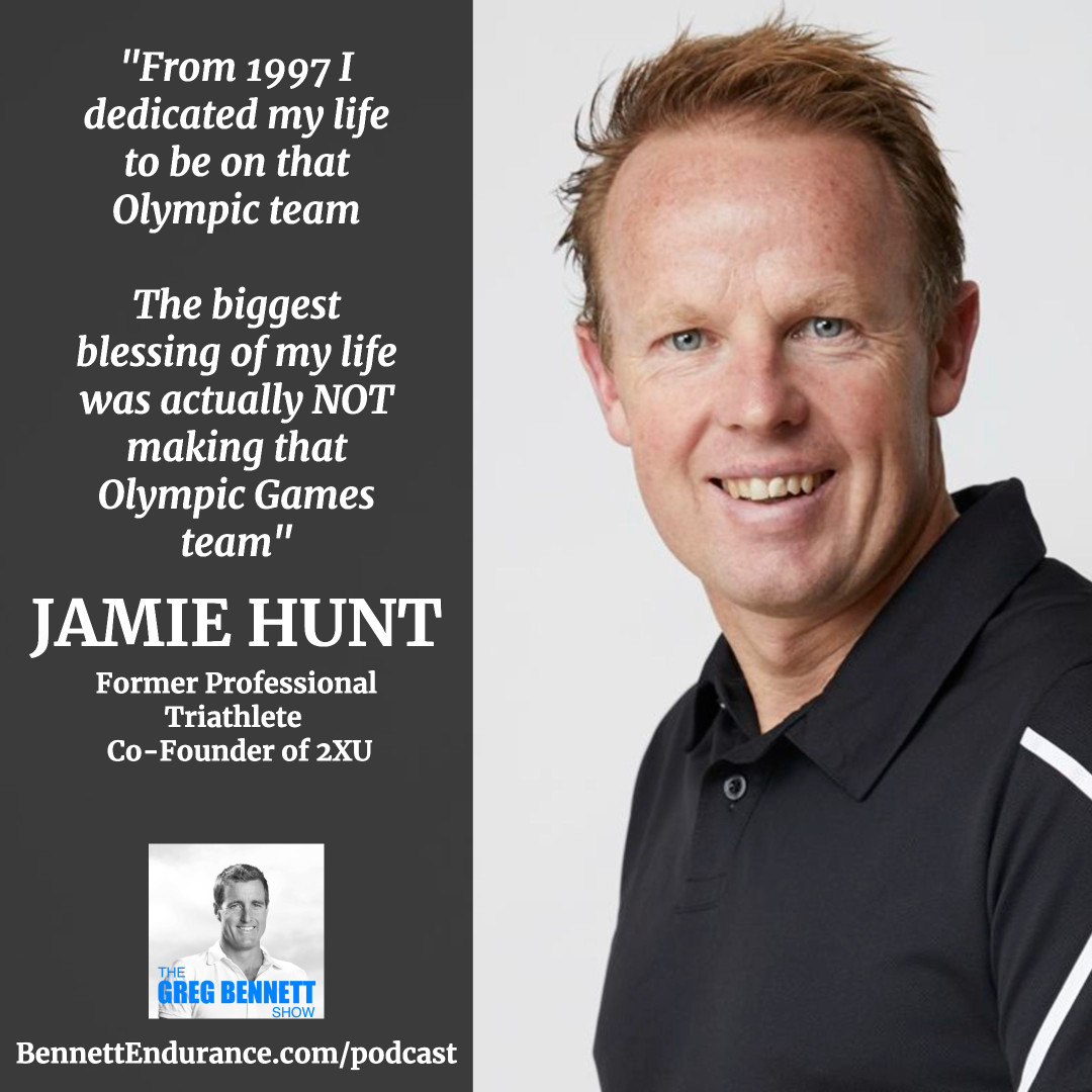 Jamie Hunt - Former Professional Triathlete - Co-Founder of Sports apparel brand 2XU