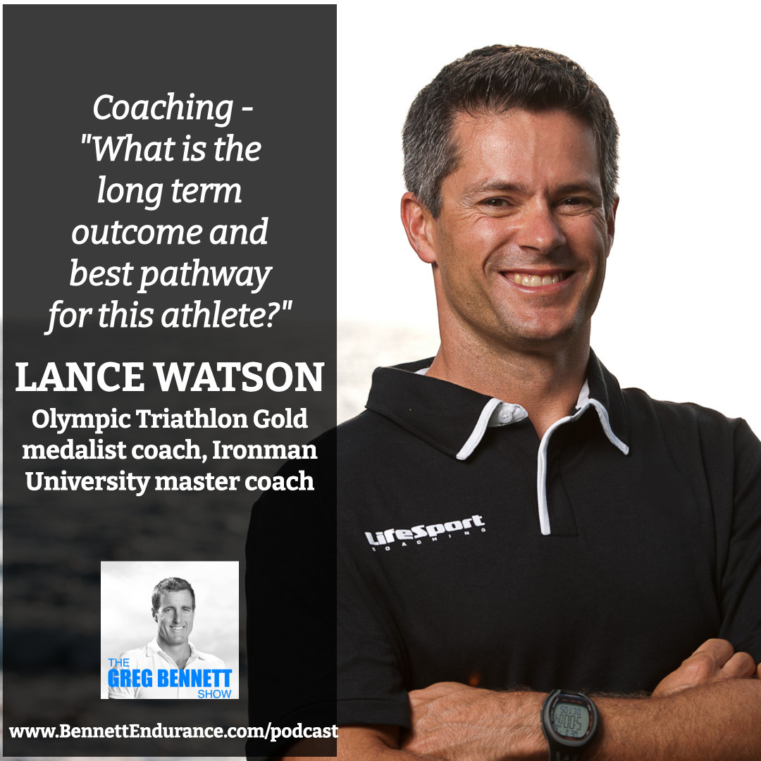 Lance Watson - Olympic Triathlon Gold medalist coach, Ironman University master coach