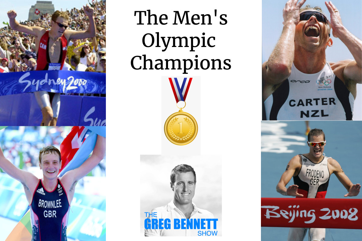 TRIATHLON GOLD - Special Edition - All of Triathlons male Olympic Gold medalists in one show!