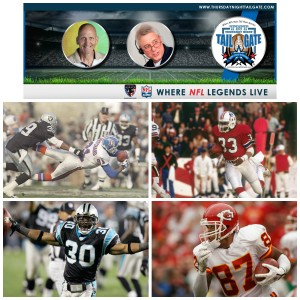 Mike Pritchard, Tony Collins, Mike Minter, & Eddie Kennison Join Us on Thursday Night Tailgate NFL Podcast